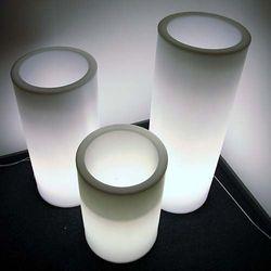Donica podświetlana LED HEBE 50 cm
