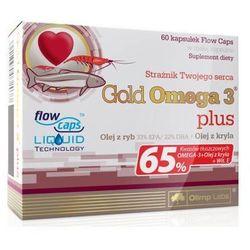 OLIMP Gold Omega 3 Plus 500mg x 60 kapsułek