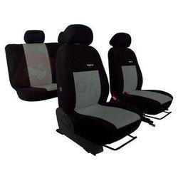 Pokrowce samochodowe ELEGANCE Szare Hyundai i30 II od 2012 - Szary