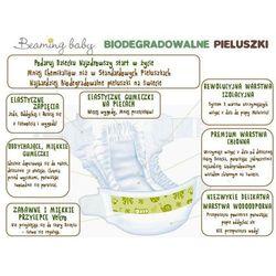 BEAMING BABY Jednorazowe Biodegradowalne Pieluchomajtki - XL 17 Kg+