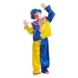 Strój Klaun żółty - przebrania / kostiumy dla dzieci, odgrywanie ról - 134 cm