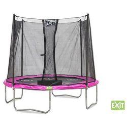 EXIT Trampolina do skakania Twist 180 cm - Różowo - szara