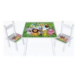 Stolik z krzesełkami Dżungla