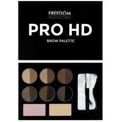 Freedom, Pro HD Brow Palette Fair Medium, Zestaw do brwi Medium Darmowa dostawa do sklepów SMYK