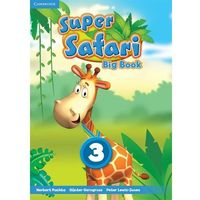Super Safari Level 3 Big Book (opr. miękka)