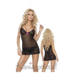 Roxana Mini Dress & String Model: 6561 Black L Sukienka i stringi czarne L
