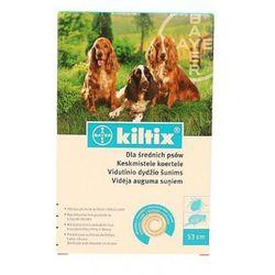 Bayer Obroża kiltix dla średnich psów - 53 cm