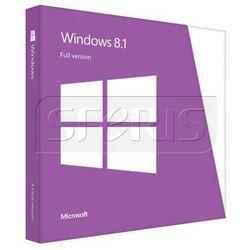 System operacyjny Microsoft Windows 8.1 x64 Eng Intl 1pk DVD OEM - WN7-00614