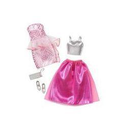 Barbie dwupak ubranek Mattel (fancy)