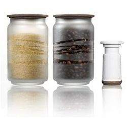 Szklane pojemniki próżniowe Cofispot - Vacuumsaver