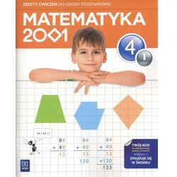 Matematyka 2001 4 Zeszyt Ćwiczeń Część 1 (opr. miękka)