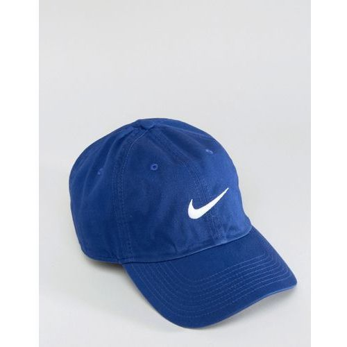 Nike Swoosh Cap In Blue 546126-455 - Blue - porównaj zanim kupisz 96a946f68f9d