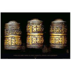 Buddyjska Kołatka - plakat