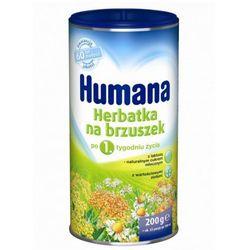 Herbatka dla niemowląt Humana na brzuszek 1. tyg