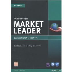 Market Leader Pre-Intermediate Business English Course Book With Dvd-Rom (opr. miękka)