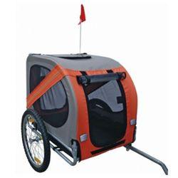 Przyczepa rowerowa dla psa (pomarańczowa) Zapisz się do naszego Newslettera i odbierz voucher 20 PLN na zakupy w VidaXL!
