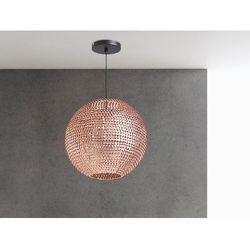 Lampa sufitowa wiszaca miedziana - zyrandol - oswietlenie - SEINE