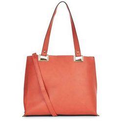 Orange Shopper Bag