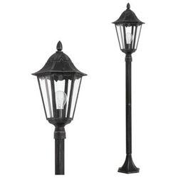 Stojąca LAMPA zewnętrzna NAVEDO 93463 Eglo klasyczna LATARNIA ogrodowa IP44 outdoor patyna czarny