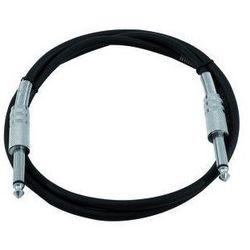 Omnitronic Cable 6,3 plug to 6,3 plug 1,5m