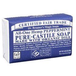 Mydlo kastylijskie w kostce miętowe - Dr. Bronner