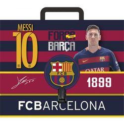 Teczka szkolna z rączką Astra FC Barcelona A4 108-002