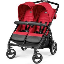PEG-PEREGO Wózek Book For Two Mod Red