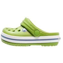 Crocs CROCBAND Klapki parrot green/white