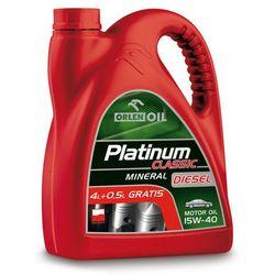 Olej silnikowy Diesel 15W-40 Platinum, 4.5L