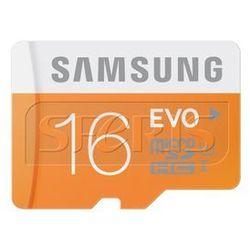 Karta pamięci Samsung Micro SD z adapterem EVO Up to 48MB/S 16GB - MB-MP16DA/EU
