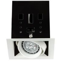 Cardano LED oprawa 1x4W GU10 biały