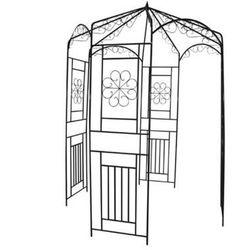 Pergola - łuk ogrodowy dla roślin pnących 250 cm wysoki. Zapisz się do naszego Newslettera i odbierz voucher 20 PLN na zakupy w VidaXL!
