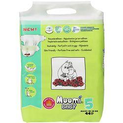 MUUMI Baby Pieluchy 5 Maxi 44szt pieluchomajtki hipoalergiczne i ekolo