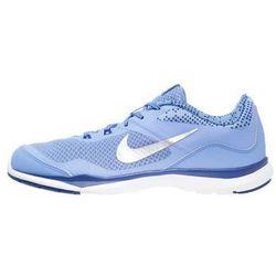 Nike Performance FLEX TRAINER 5 Obuwie treningowe chalk blue/metallic silver/deep royal blue/white