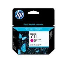 Oryginał Zestaw trzech tuszy HP 711 do Designjet T120/520 | 3 x 29ml | magenta
