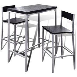 vidaXL Wysoki stolik kuchenny + krzes?a Darmowa wysy?ka i zwroty