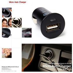 Micro Auto Universal USB Charger For iPhone iPod Car-Charger Adapter / Cigar Socket For Other Phone Car Charger
