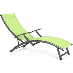 Leżak ogrodowy aluminiowy Summer Green Lemon Home&Garden 853657