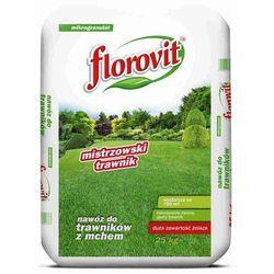 Nawóz do trawy antymech FLOROVIT z żelazem (Fe) PALETA 40x25kg