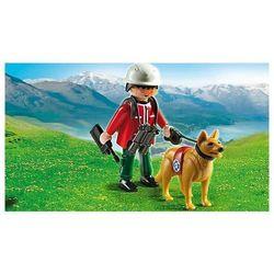Playmobil  Ratownik górski z psem ratowniczym 5431