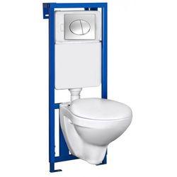 NOVOTERM K50 CHROM Zestaw podtynkowy do WC