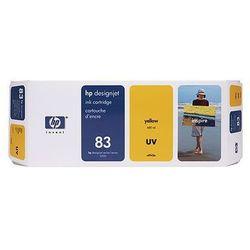Tusz HP 83 / C4943A Yellow UV do drukarek (Oryginalny) [680 ml]