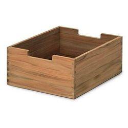 Skagerak CUTTER BOX Pudełko do Przechowywania Małe - Drewno Tekowe