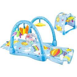 Mata edukacyjna dla niemowląt niebo 2w1 tunel