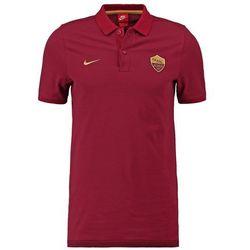 Nike Performance AS ROMA Koszulka polo team red/night maroon/gold