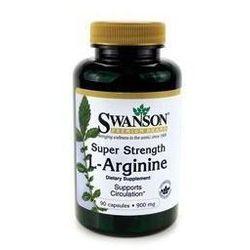 SWANSON L-arginina forte 850mg x 90 kapsułek