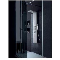 7049 Panel prysznicowy z aluminium, srebrny