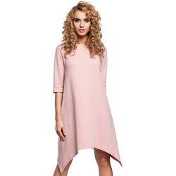 8ac4cf7a83 suknie sukienki rose rozowa pudrowa koronkowa trapezowa sukienka ...
