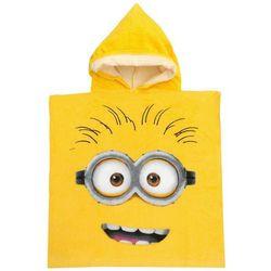 Ponczo, ręcznik kąpielowy Minionki poncho 50x100 one minionek