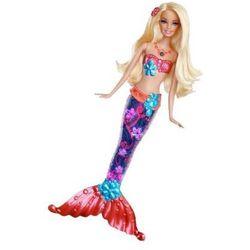 Barbie Świecaca Syrenka Blondynka V7047